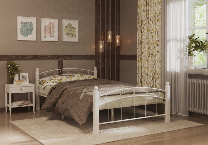 Кровать кованная Гарда 15
