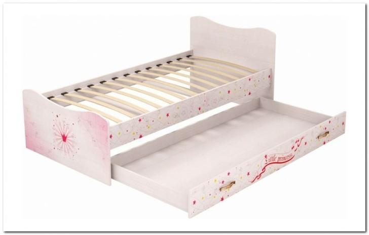 Кровать с ящиком  Принцесса 04