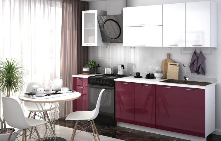 Модульная кухня Ксения Бордо