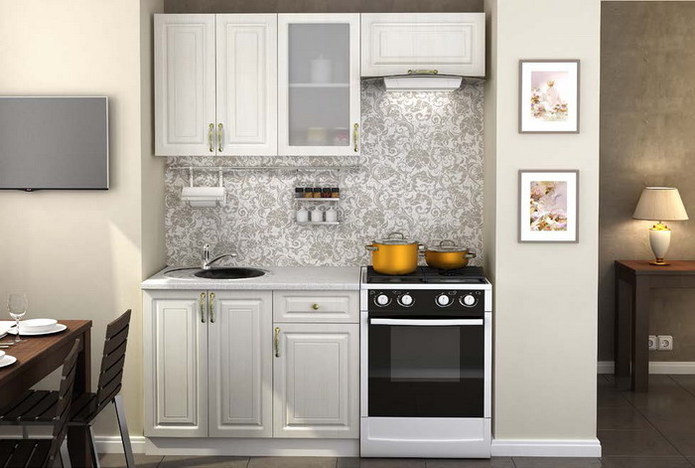 Модульная кухня Юлия композиция 1