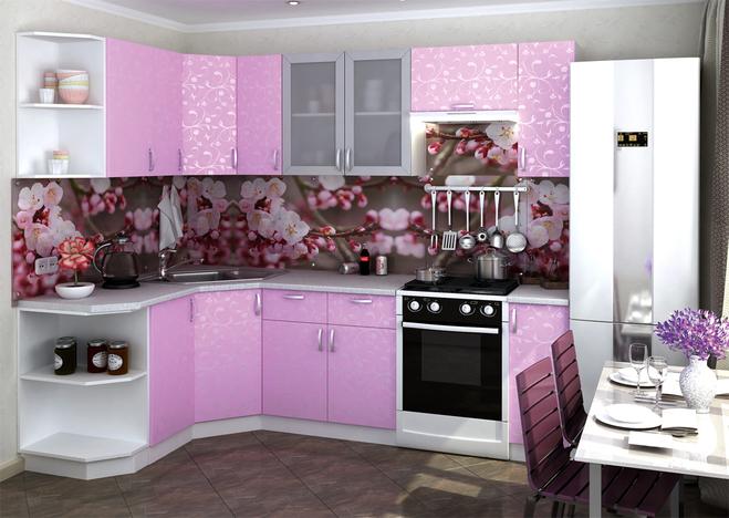 Модульная кухня Дина ирис