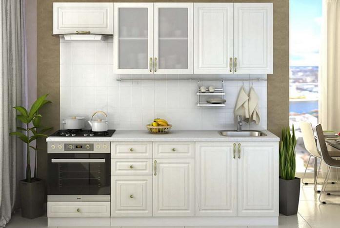 Модульная кухня Юлия композиция 5