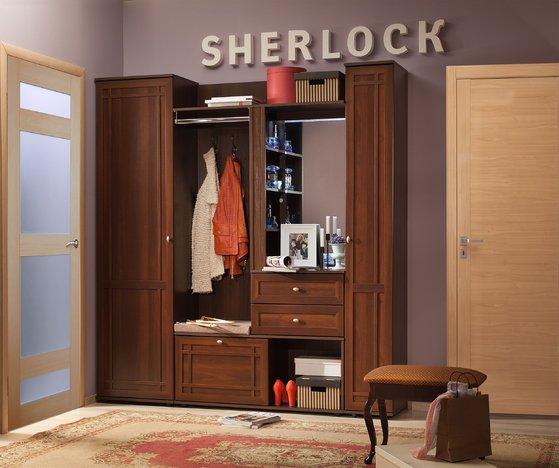 Прихожая Шерлок орех шоколадный