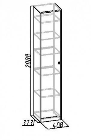 Шкаф для белья Комфорт 7
