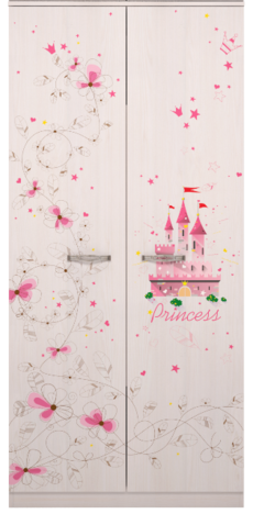 Шкаф для одежды  Принцесса 01