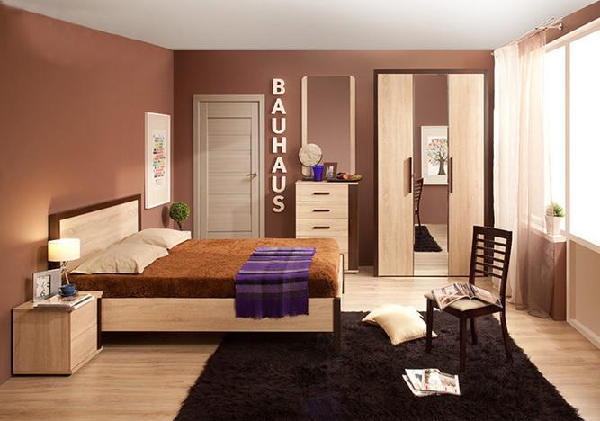 Спальный гарнитур Баухаус 1
