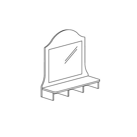 Надставка комода Прованс 412