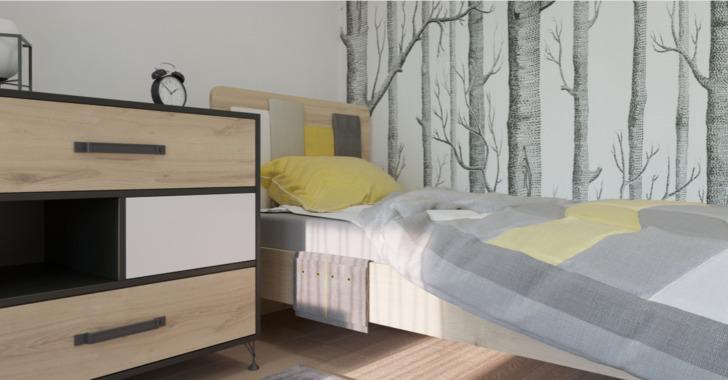 Кровать 12 Александрия на 900
