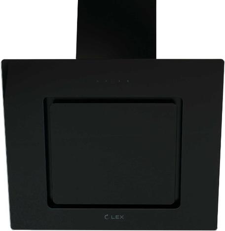 Наклонная вытяжка LEX LUNA 600 BLACK