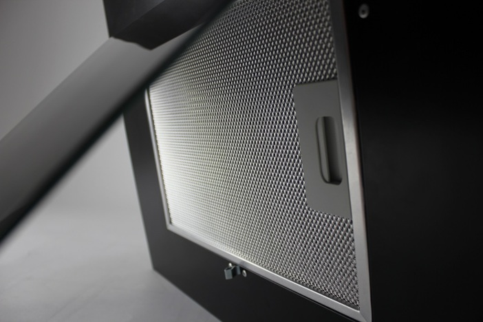 Наклонная вытяжка LEX MINI 600 BLACK