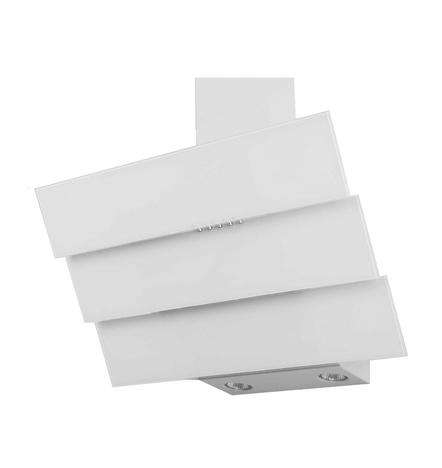 Наклонная кухонная вытяжка LEX RIO 600 WHITE