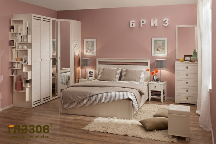Спальный гарнитур Бриз 2