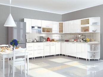 Кухня Танго модульная белый