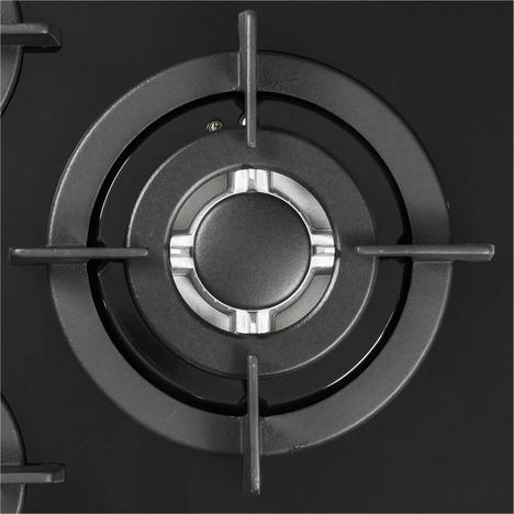 Газовая варочная поверхность 450 мм LEX GVG 430 BL